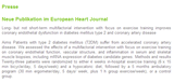 Neue Publikation im European Heart Journal