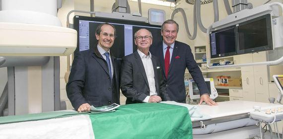 Alles Neu: Angiographieanlage und Simulator an der Radiologie