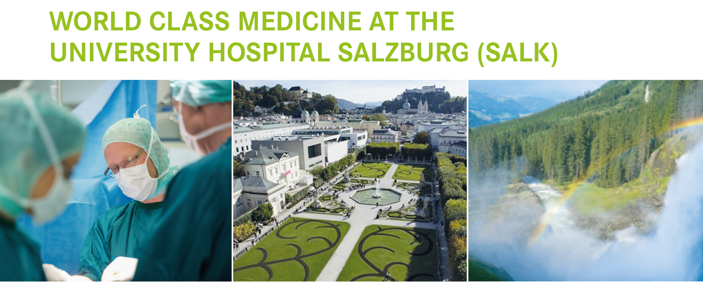 World Class Medicine at the Universitiy Hospital Salzburg