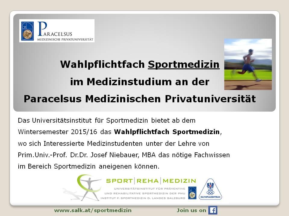 Aktuelles - Universitätsinstitut für präventive und rehabilitative ...