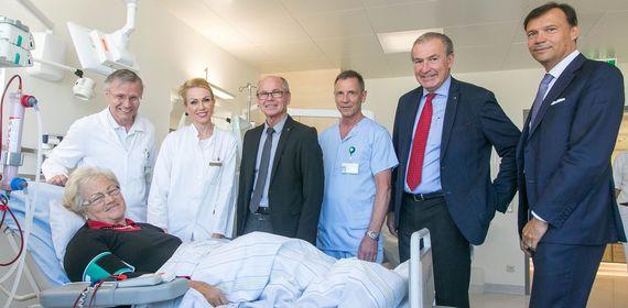 Neue Dialysestation: Hell, freundlich und mehr Platz