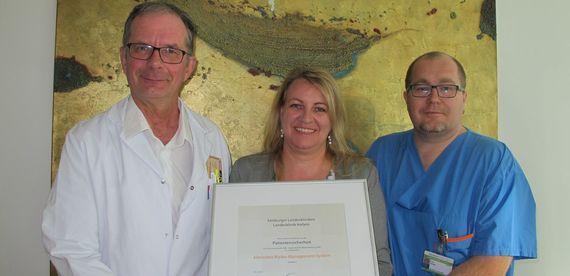 LK Hallein: Zertifizierte Patientenversorgung