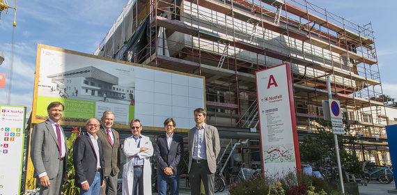 Land investiert 6,8 Mio. Euro: Große Baufortschritte bei den neuen Radiotherapie- und Nuklearmedizin-Stationen